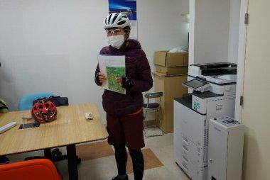 サイクリングホリデー東京 ガイドさん