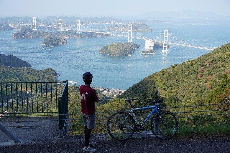 人気のサイクリングエリア、しまなみ海道。自転車旅で楽しむ豊かな自然や素敵な景色。