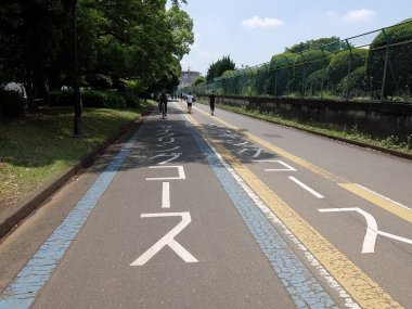 駒沢公園サイクリングコース