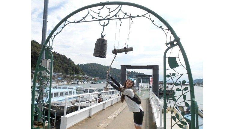 沖島の幸せの鐘