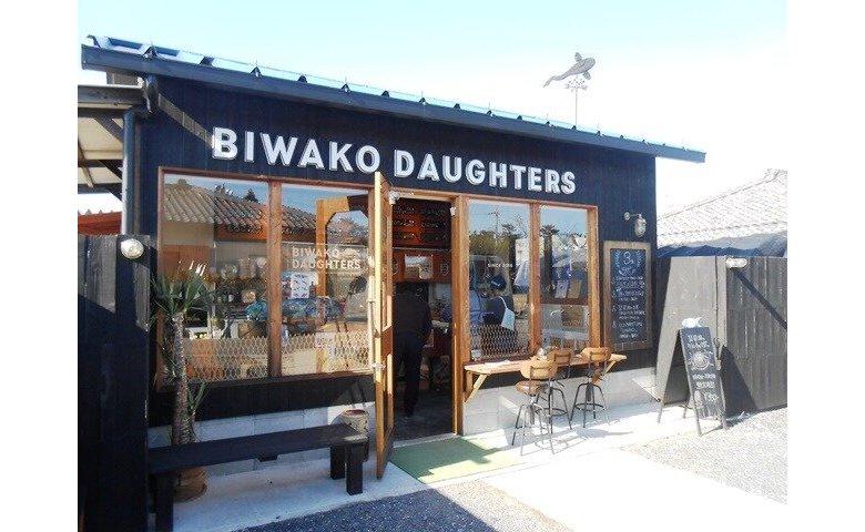 自転車でBIWAKO DAUGHTERSへ